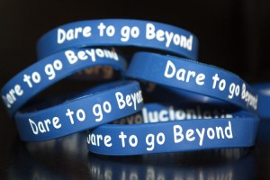 Dare To Go Beyond Wristbands